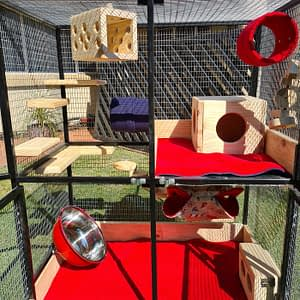 XL Custom Built Chinchilla Cages