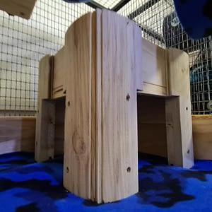 Chinchilla Log Cabin